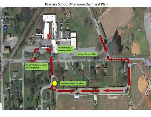 Primary Dismissal Map