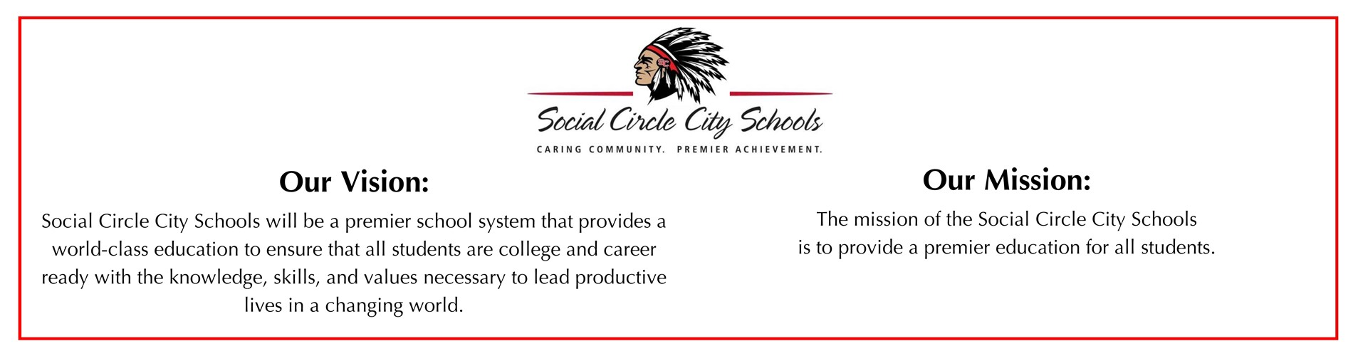 SCCS Vision and Mission Statements