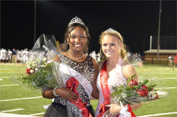 Homecoming Queen & Ms. Redskin