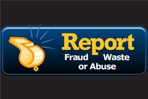 Report Fraud waste and abuse
