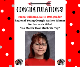 Young Georgia Author Winner