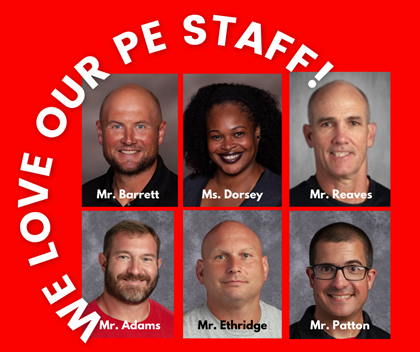 Love our pe teachers