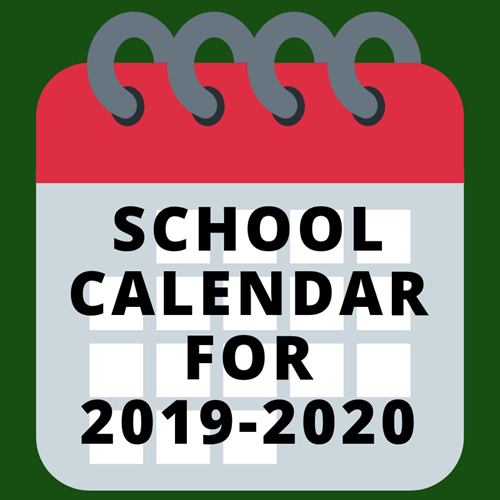 Image result for 2019-2020 calendar
